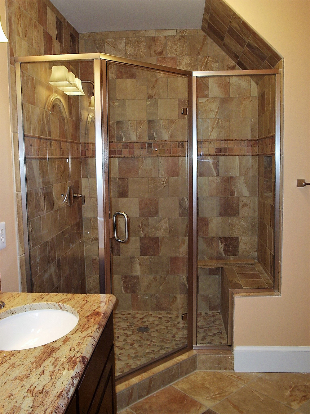 Semi-Frameless Shower Sterling, Middleburg, Warrenton